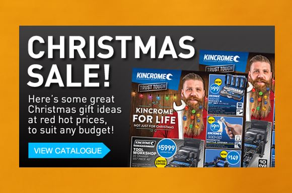 Kincrome Christmas Sale 2017